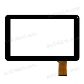 HS1245 V0TJ9 Digitizer Glass Touch Screen Replacement for 9 Inch MID Tablet PC
