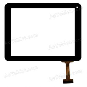 OLM-080A0015-PG Digitizer Glass Touch Screen Replacement for 8 Inch MID Tablet PC