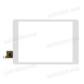 AD-C-800724-FPC Digitizer Glass Touch Screen Replacement for 7.9 Inch MID Tablet PC