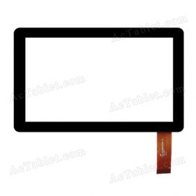 FPC-TP070007(V7TP)-00 Digitizer Glass Touch Screen Replacement for 7 Inch MID Tablet PC