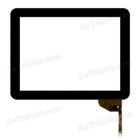 0PD-TPC0034 Digitizer Glass Touch Screen Replacement for 9.7 Inch MID Tablet PC
