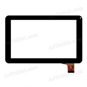 FPC-TP070111(U25C0B)-00 Digitizer Glass Touch Screen Replacement for 7 Inch MID Tablet PC