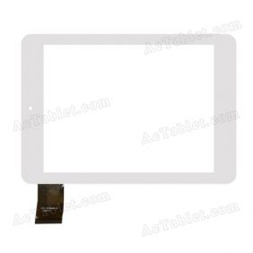 FPC-TP080022-00 Digitizer Glass Touch Screen Replacement for 8 Inch MID Tablet PC