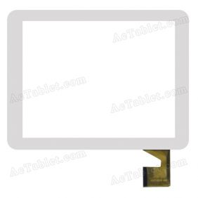 YDT1215-A0 Digitizer Glass Touch Screen Replacement for 8 Inch MID Tablet PC