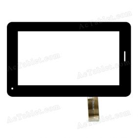 JQFP07006A Digitizer Glass Touch Screen Replacement for 7 Inch MID Tablet PC