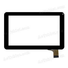 YCG-C7.0-0086A-FPC-02 Digitizer Glass Touch Screen Replacement for 7 Inch MID Tablet PC