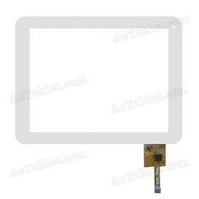 MF-279-080F-5 Digitizer Glass Touch Screen Replacement for 8 Inch MID Tablet PC
