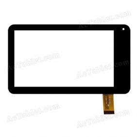 HYL-13002-E Digitizer Glass Touch Screen Replacement for 7 Inch MID Tablet PC