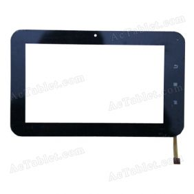 BKS-FP7002-V2 Digitizer Glass Touch Screen Replacement for 7 Inch MID Tablet PC