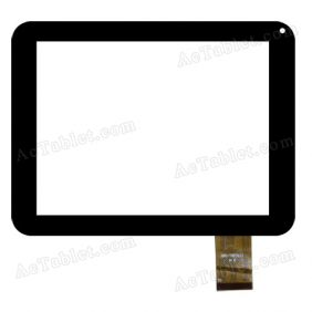 OPD-TPC0122 Digitizer Glass Touch Screen Replacement for 8 Inch MID Tablet PC