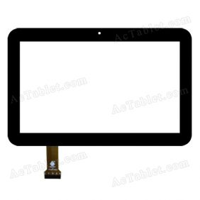 TPC0687 VER2.0 Digitizer Glass Touch Screen Replacement for 7 Inch MID Tablet PC
