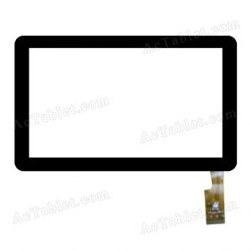 TPC1059 VER1.0 Digitizer Glass Touch Screen Replacement for 7 Inch MID Tablet PC