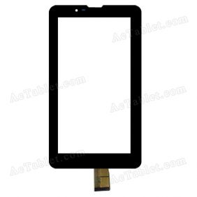 YLD-CG0047-FPC-A1 Digitizer Glass Touch Screen Replacement for 7 Inch MID Tablet PC