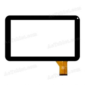 HK90DR2075 Digitizer Glass Touch Screen Replacement for 9 Inch MID Tablet PC