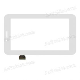 TPC1046 VER1.0  Digitizer Glass Touch Screen Replacement for 6.5 Inch MID Tablet PC
