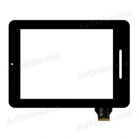 300-L3610A-A00-V1.0 Digitizer Glass Touch Screen Replacement for 8 Inch MID Tablet PC