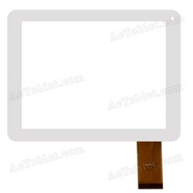 DLW-CTP-032 Digitizer Glass Touch Screen Replacement for 8 Inch MID Tablet PC
