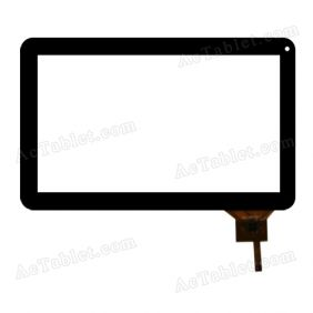 WJ-DR10011-FPC V2.0 Digitizer Glass Touch Screen Replacement for 10.1 Inch MID Tablet PC