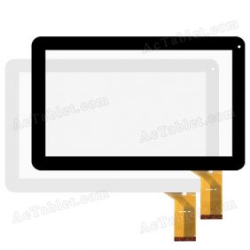QLT1007C-PW Digitizer Glass Touch Screen Replacement for 10.1 Inch Android Tablet PC