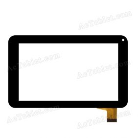 TPT-070-134 Digitizer Glass Touch Screen Panel Replacement for 7 Inch Tablet PC