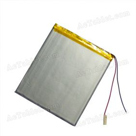 Universal Replacement 4000mAh Li-Battery for 7~8 Inch Android Tablet PC 3.7V