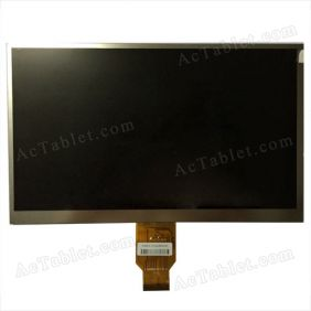 FX101HSD400-FPC-A LCD Display Screen Replacement for 10.1 Inch Android Tablet PC 1024*600px