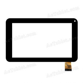 TE-0700-0021 FPC V2.0 Digitizer Glass Touch Screen Replacement for 7 Inch MID Tablet PC