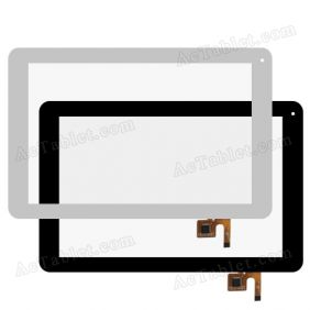 DY-F-10108-V2 Digitizer Glass Touch Screen Replacement for 10.1 Inch MID Tablet PC
