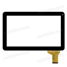 LKW0171. Digitizer Glass Touch Screen Replacement for 10.1 Inch Android Tablet PC