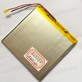 Replacement 4300mah Battery for 7/8/9 Inch Android Tablet PC 3.7V DC 5V