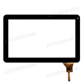 QLT1007 Touch Screen Replacement for Allwinner A20 A23 A31 A31s 10.1 Inch MID Tablet PC 12 Pins