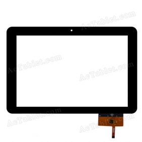 QSD E-100013-04 Digitizer Glass Touch Screen Replacement for 10.1 Inch MID Tablet PC