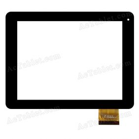 FPC-TP080009(830)-01 Digitizer Glass Touch Screen Replacement for 8 Inch MID Tablet PC