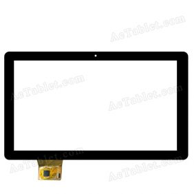 YTG-P10015-F1 Digitizer Glass Touch Screen Replacement for 10.1 Inch MID Tablet PC