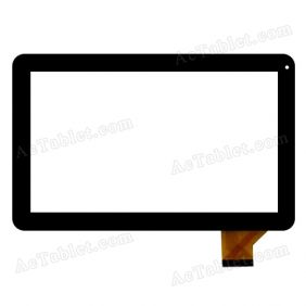 ZHC-166A Digitizer Glass Touch Screen Replacement for 10.1 Inch MID Tablet PC