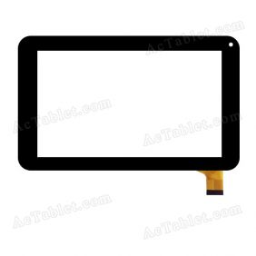 CZY6411-F728H/S738 Digitizer Glass Touch Screen Replacement for 7 Inch MID Tablet PC