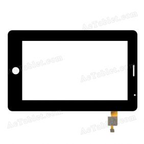 SLC07021AGLF MSH Digitizer Glass Touch Screen Replacement for 7 Inch MID Tablet PC