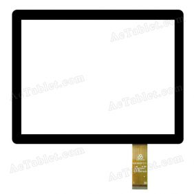 RS8F0403017V1.1 Digitizer Glass Touch Screen Replacement for 8 Inch MID Tablet PC