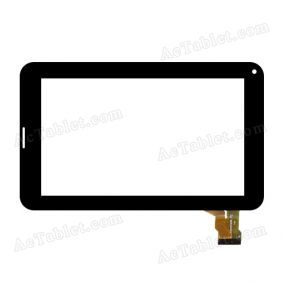 HJ004PEG00A-FPC Digitizer Glass Touch Screen Replacement for 7 Inch MID Tablet PC