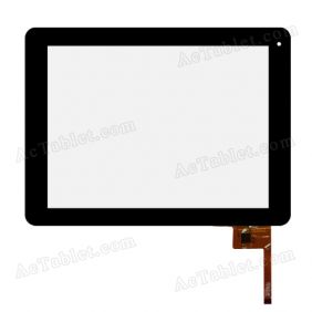 PINGBO PB97A8585-T970/971-H TP Digitizer Touch Screen Replacement for 9.7 Inch Tablet PC
