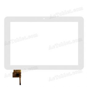 FPC-TP101022(YK102)-02 Digitizer Glass Touch Screen Replacement for 10.1 Inch Tablet PC