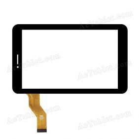 CTD FM710301KA Digitizer Glass Touch Screen Replacement for 7 Inch MID Tablet PC