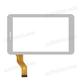 CTD FM710101KB Digitizer Glass Touch Screen Replacement for 7 Inch MID Tablet PC