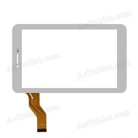 Digitizer Touch Screen Replacement for Newpad Newsmy F7 3G MTK6572 7 Inch Tablet PC