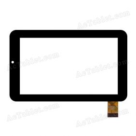 MF-288-070F-2 FPC Digitizer Glass Touch Screen Replacement for 7 Inch MID Tablet PC
