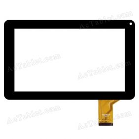 CZY6710b01-FPC Digitizer Glass Touch Screen Replacement for 9 Inch MID Tablet PC
