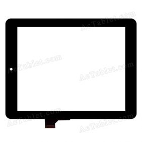 FPC-CTP-0800-014-2 Digitizer Glass Touch Screen Replacement for 8 Inch MID Tablet PC