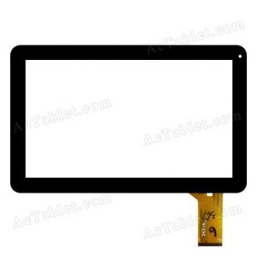 343-A Digitizer Glass Touch Screen Replacement for 10.1 Inch MID Tablet PC