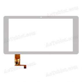 Touch Screen Replacement for Ramos W41 Quad Core ATM7029 9.4 Inch MID Tablet PC