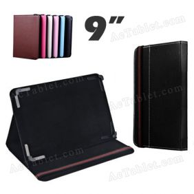 Leather Case Cover for PiPo Talk T9 MTK6592 Octa Core Android Tablet PC MID